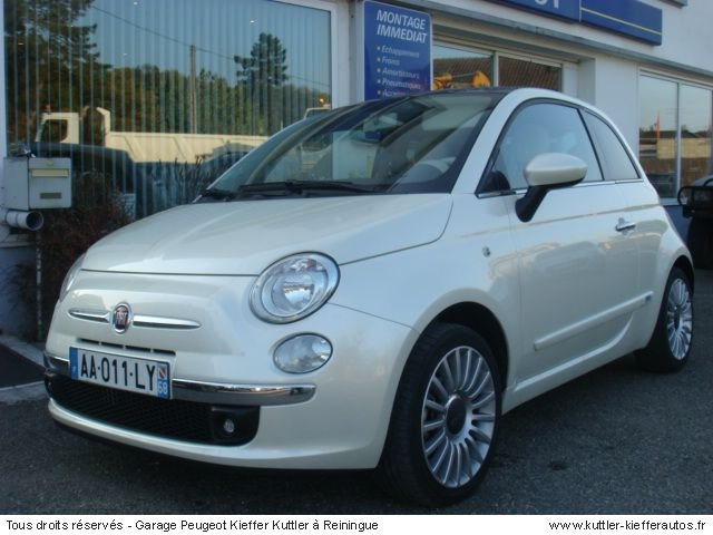 fiat 500 1 3 diesel 2009 occasion auto fiat 500. Black Bedroom Furniture Sets. Home Design Ideas