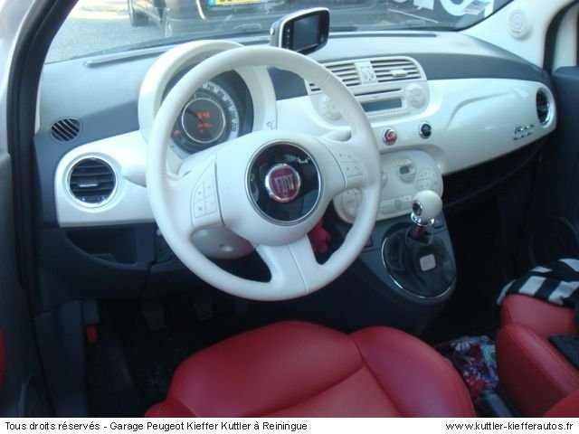 FIAT 500 1.3  DIESEL 2009 - Voiture d'occasion