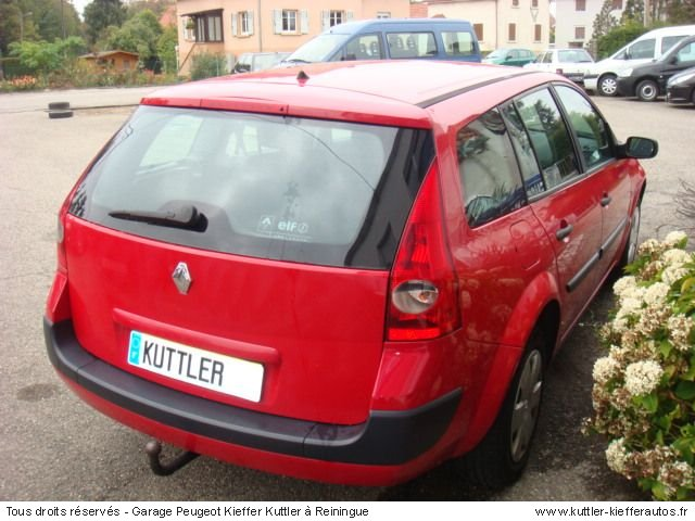 RENAULT MEGANE BREAK 1.5L DCI 100CV 2005 - Voiture d'occasion