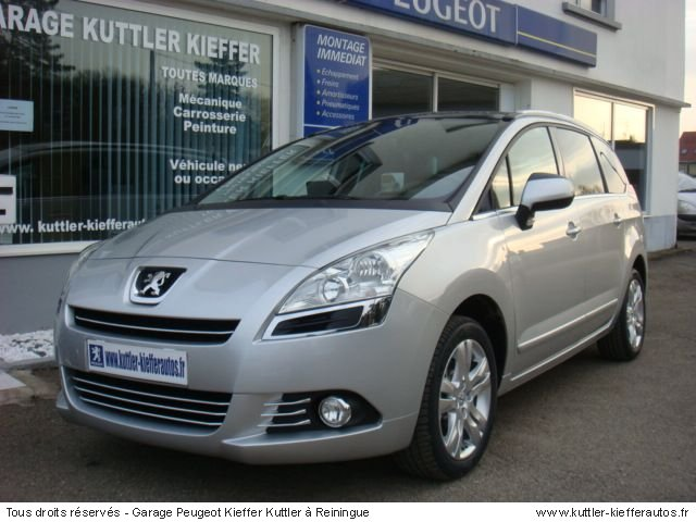 Peugeot 5008 2l hdi 150cv 7 places 2009 occasion auto for Location voiture garage peugeot