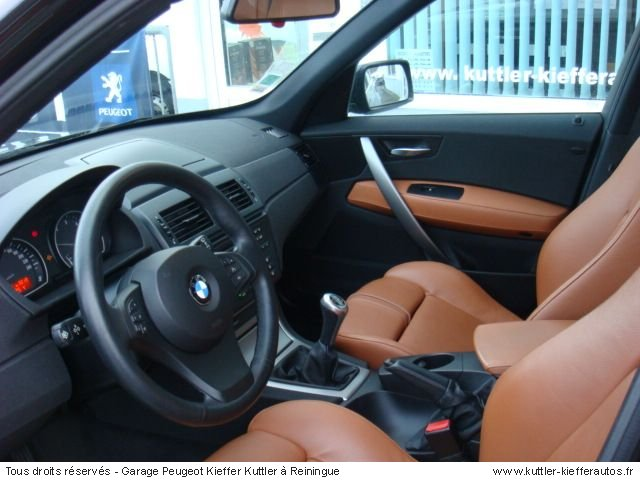 bmw x3 pack sport 3l diesel 2004 occasion auto bmw x3. Black Bedroom Furniture Sets. Home Design Ideas