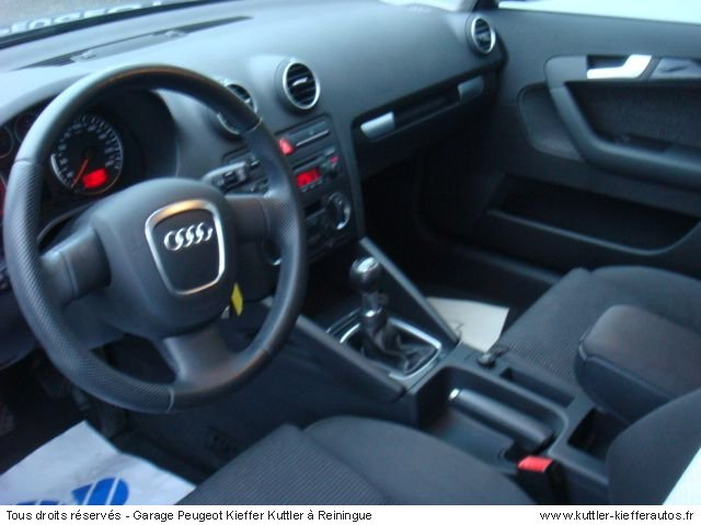 audi a3 2l tdi 140cv 5 pt 2005 occasion auto audi a3. Black Bedroom Furniture Sets. Home Design Ideas