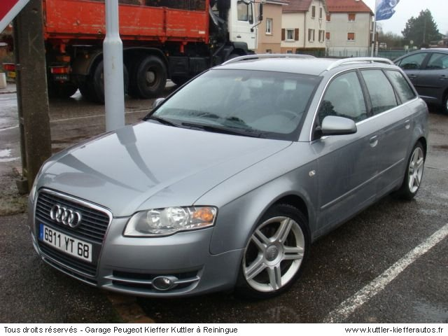 audi a4 avant 2l tdi 140 cv ambition luxe 2005 occasion auto audi a4. Black Bedroom Furniture Sets. Home Design Ideas