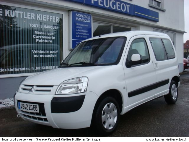 CITROEN BERLINGO 1.6L 16V MULTISPACE 2007 - Voiture d'occasion