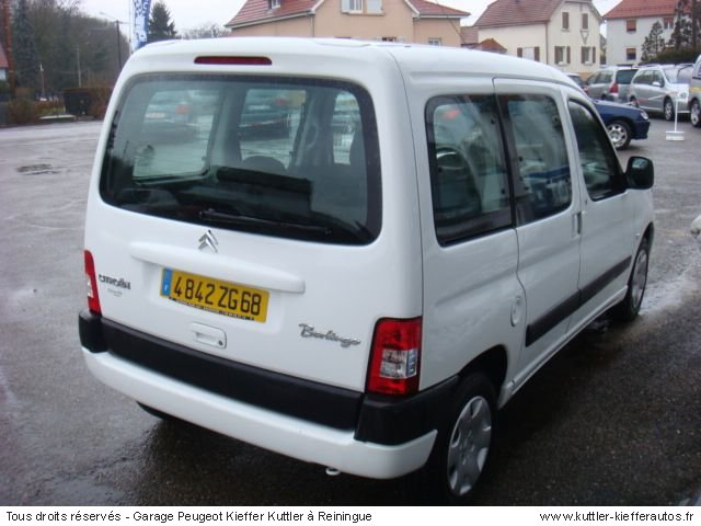 citroen berlingo 1 6l 16v multispace 2007 occasion auto citroen berlingo. Black Bedroom Furniture Sets. Home Design Ideas