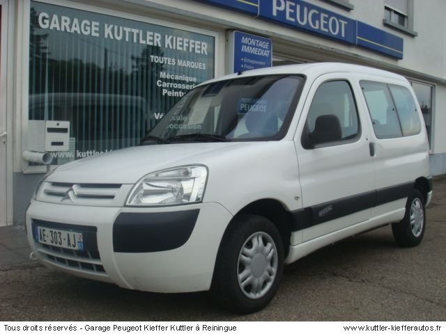 CITROEN BERLINGO HDI 90 CV MULTISPACE 2006 - Voiture d'occasion