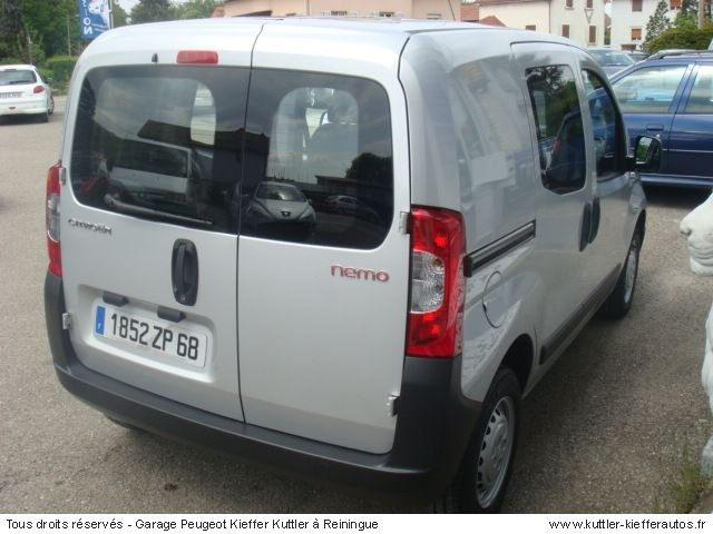 CITROEN NEMO 1,4L HDI PACK CD CLIM 2008 - Voiture d'occasion