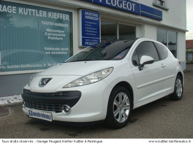 peugeot 207 1 6 hdi 110cv premium pack 2008 occasion. Black Bedroom Furniture Sets. Home Design Ideas