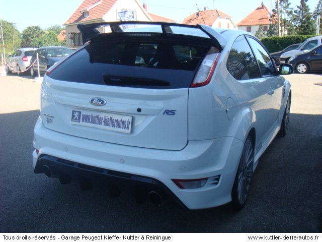 ford focus rs 2009 occasion auto ford focus. Black Bedroom Furniture Sets. Home Design Ideas