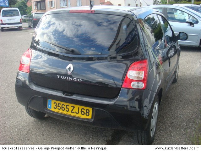 renault twingo 2 1 5l dci 2007 occasion auto renault twingo. Black Bedroom Furniture Sets. Home Design Ideas