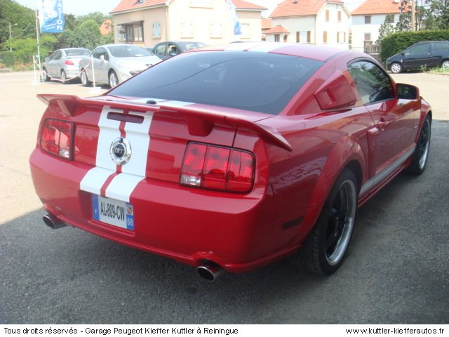 ford mustang v8 300cv 2008 occasion auto ford mustang. Black Bedroom Furniture Sets. Home Design Ideas