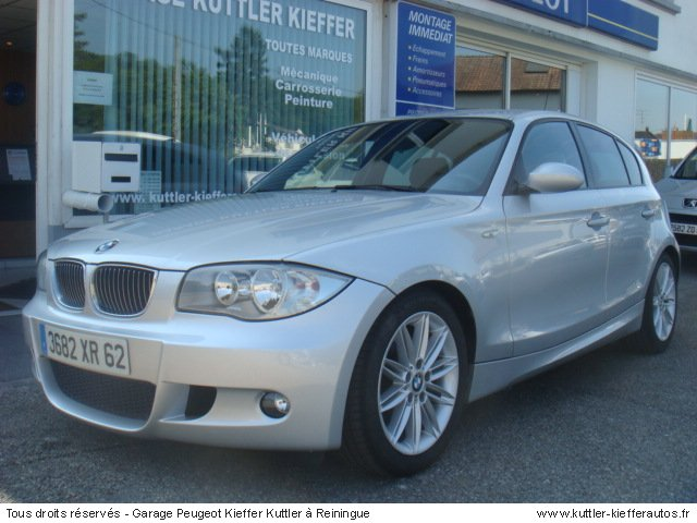 BMW 118 D PACK M 2005 - Voiture d'occasion