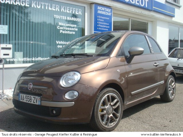 fiat 500 1 4l 16v duallogic by diesel 2009 occasion auto. Black Bedroom Furniture Sets. Home Design Ideas