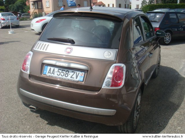 fiat 500 1 4l 16v duallogic by diesel 2009 occasion auto fiat 500. Black Bedroom Furniture Sets. Home Design Ideas