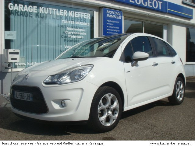 CITROEN C3 1.6L HDI 90CV EXCLUSIVE 2010 - Voiture d'occasion