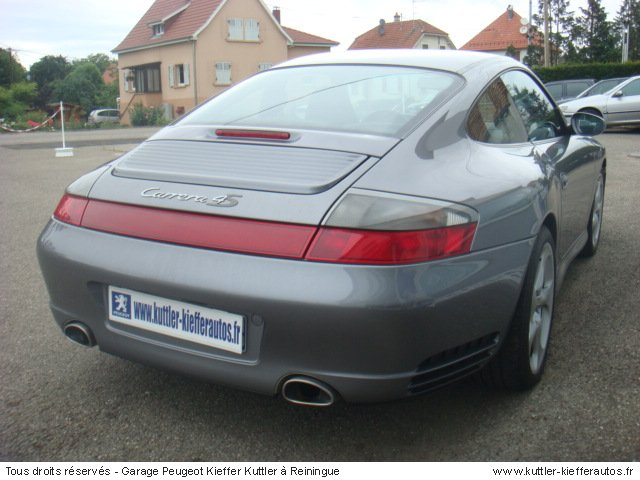 PORSCHE 996 4S 2002 - Voiture d'occasion