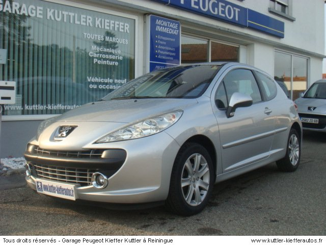 peugeot 207 1 6 hdi 110cv sport pack 2006 occasion auto. Black Bedroom Furniture Sets. Home Design Ideas