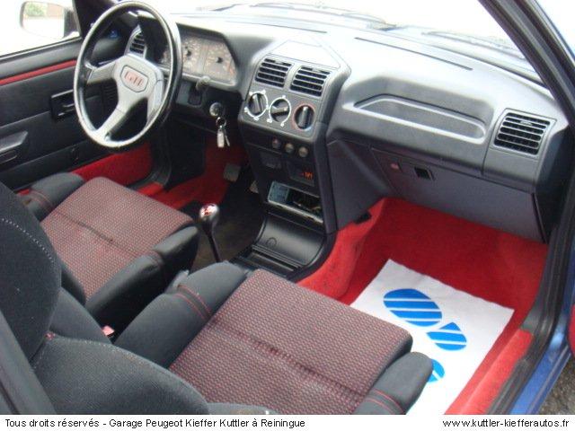 Peugeot 205 gti 1 9l 122cv 1993 occasion auto peugeot for Interieur 205