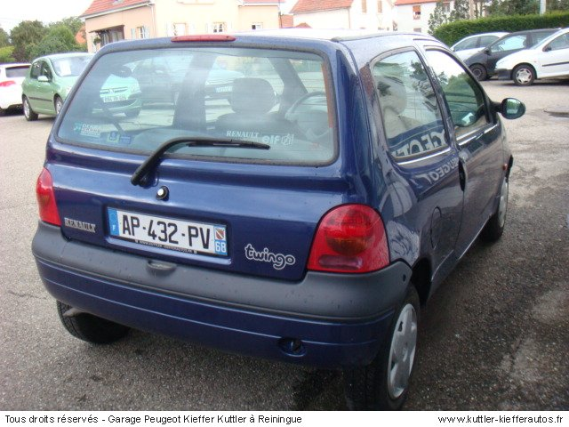 renault twingo 1 2l pack 2000 occasion auto renault twingo. Black Bedroom Furniture Sets. Home Design Ideas