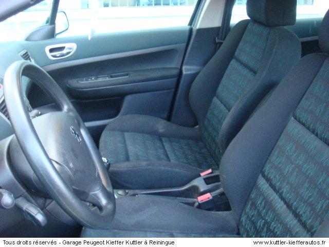 peugeot 307 2 l hdi 110cv xs premium 2002 occasion auto peugeot 307. Black Bedroom Furniture Sets. Home Design Ideas