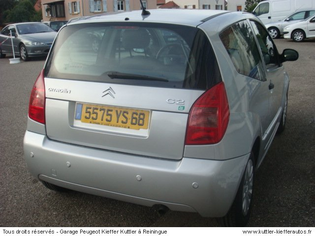 CITROEN C2 1.4L ESSENCE TICTAC 2005 - Voiture d'occasion