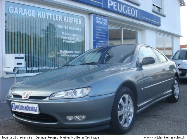 peugeot 406 coupe 2 2l hdi 2002 occasion auto peugeot 406 coupe. Black Bedroom Furniture Sets. Home Design Ideas