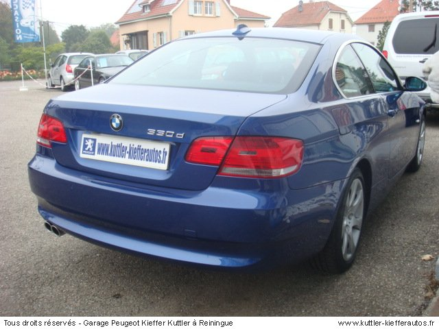 BMW 330 D COUPE PACK LUXE 2007 - Voiture d'occasion