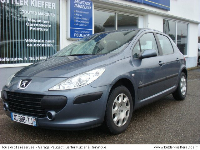 PEUGEOT 307 1.6L 16V EXECUTIVE 5PT 2007 - Voiture d'occasion