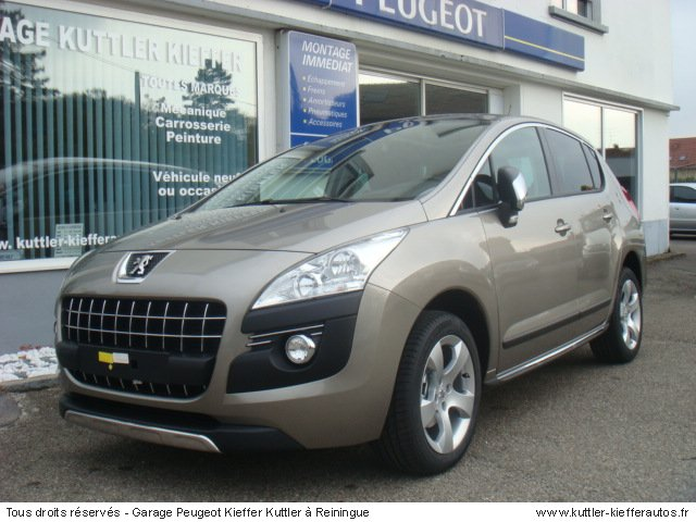peugeot 3008 1 6 hdi 110cv premium pack 2010 occasion. Black Bedroom Furniture Sets. Home Design Ideas