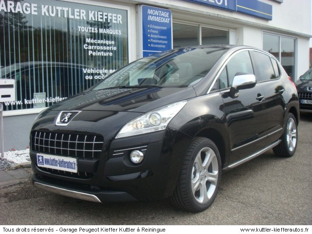 peugeot 3008 hdi 163cv bva feline 2010 occasion auto. Black Bedroom Furniture Sets. Home Design Ideas
