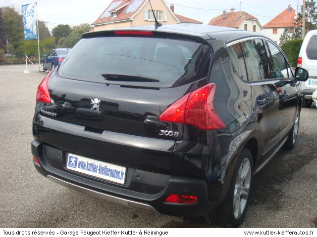 peugeot 3008 hdi 163cv bva feline 2010 occasion auto peugeot 3008. Black Bedroom Furniture Sets. Home Design Ideas
