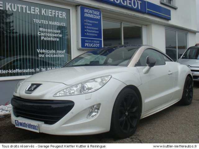 peugeot rcz 1 6 thp 156cv limited dition 2010 occasion auto peugeot rcz. Black Bedroom Furniture Sets. Home Design Ideas