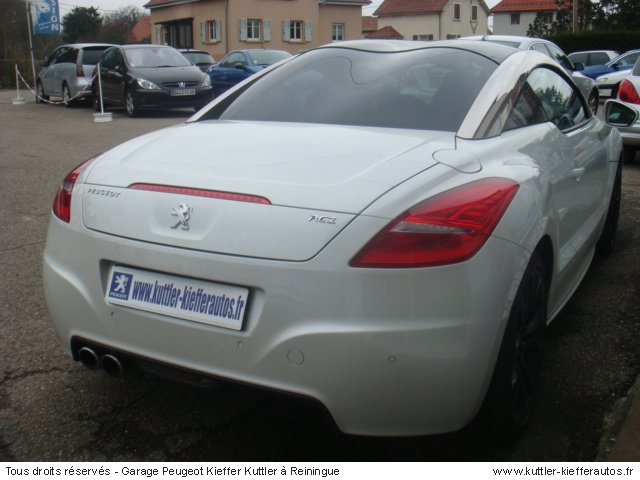 peugeot rcz 1 6 thp 156cv limited dition 2010 occasion. Black Bedroom Furniture Sets. Home Design Ideas