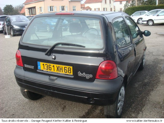 renault twingo 1 2l pack clim 2000 occasion auto renault twingo. Black Bedroom Furniture Sets. Home Design Ideas