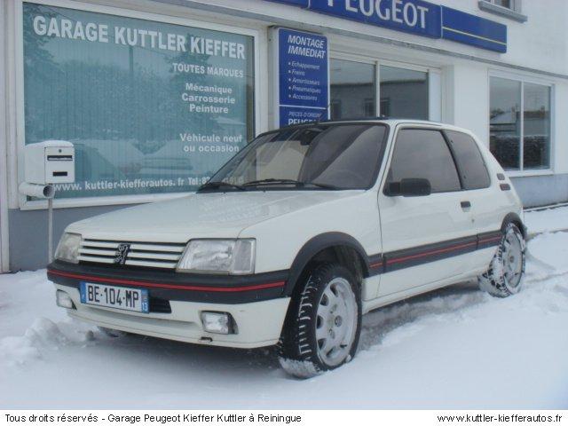 PEUGEOT 205 GTI 1.9L 122CV 1991 - Voiture d'occasion