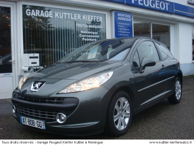 peugeot 207 1 6l hdi 110cv sport pack 2008 occasion auto. Black Bedroom Furniture Sets. Home Design Ideas