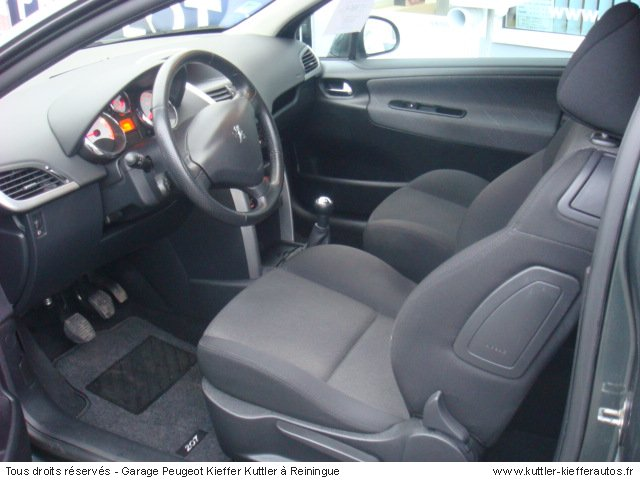 peugeot 207 1 6l hdi 110cv sport pack 2008 occasion auto peugeot 207. Black Bedroom Furniture Sets. Home Design Ideas