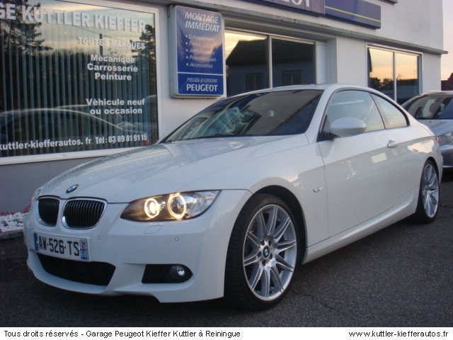 Bmw 335i coupe sport design 306cv 2007 occasion auto bmw for Garage voiture occasion sedan