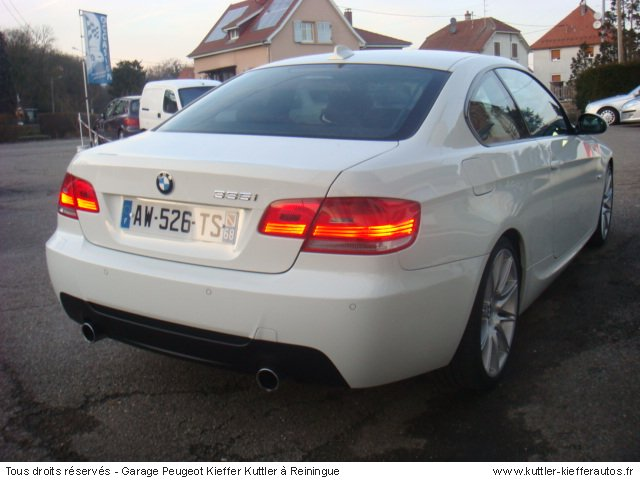 bmw 335i coupe sport design 306cv 2007 occasion auto bmw 335i coupe. Black Bedroom Furniture Sets. Home Design Ideas