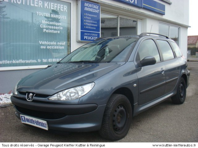 2005 peugeot 206 sw 90 related infomation specifications weili automotive network. Black Bedroom Furniture Sets. Home Design Ideas