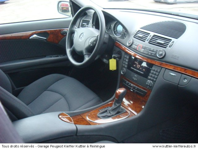 mercedes classe e elegance 320 cdi bva 2003 occasion. Black Bedroom Furniture Sets. Home Design Ideas