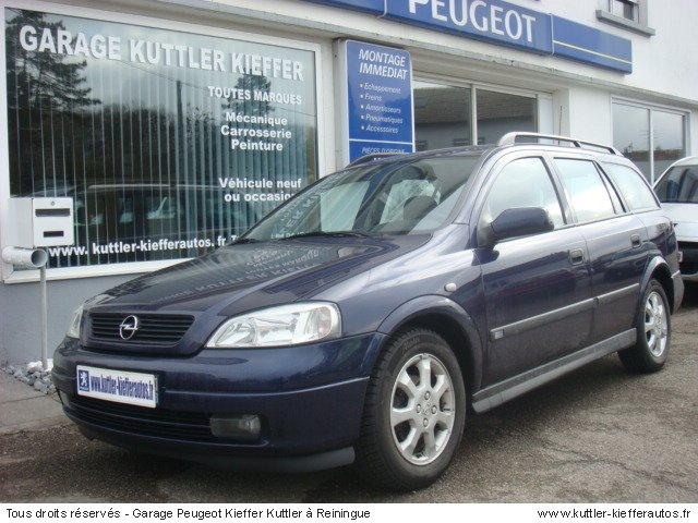 OPEL ASTRA BREAK 1.6L 16V ESSENCE 2001 - Voiture d'occasion