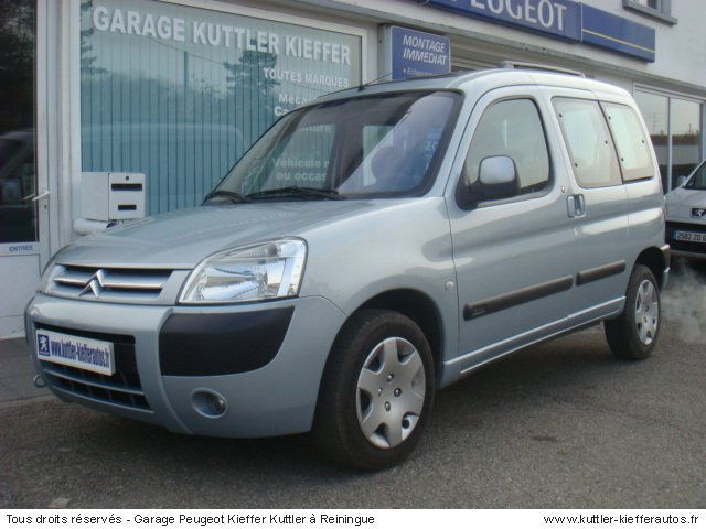citroen berlingo 2 0l hdi 90cv pack 2005 occasion auto citroen berlingo. Black Bedroom Furniture Sets. Home Design Ideas