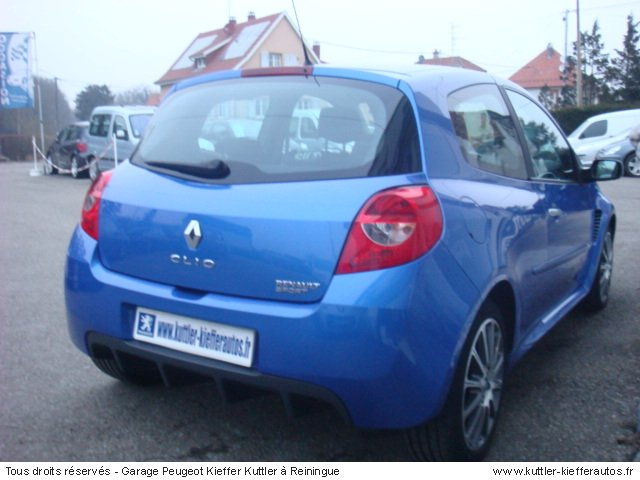 renault clio 3 rs 203 cv 2009 occasion auto renault clio 3. Black Bedroom Furniture Sets. Home Design Ideas