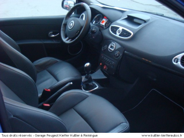 RENAULT CLIO 3 RS 203 CV 2009 - Voiture d'occasion