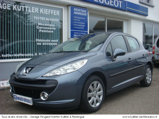 peugeot 207 1 4l hdi style 5 pt 2008 occasion auto peugeot 207. Black Bedroom Furniture Sets. Home Design Ideas