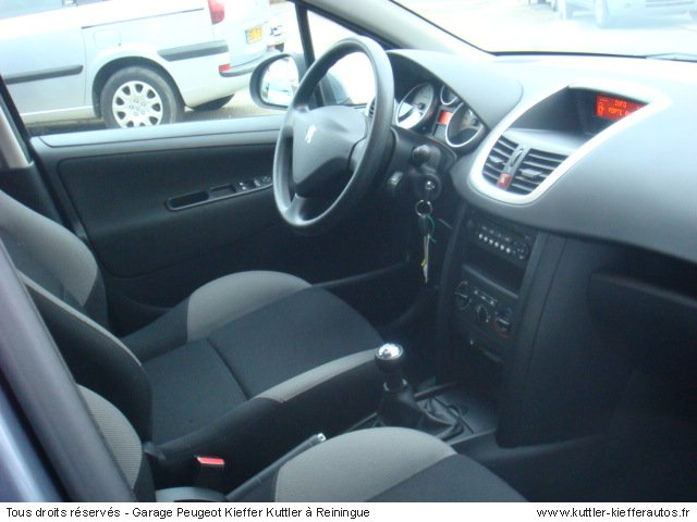 PEUGEOT 207 1.4L HDI STYLE 5 PT 2008 - Voiture d'occasion