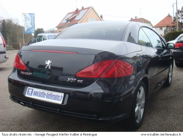 peugeot 307 cc sport pack 2 0l hdi 136cv 2007 occasion auto peugeot 307 cc. Black Bedroom Furniture Sets. Home Design Ideas