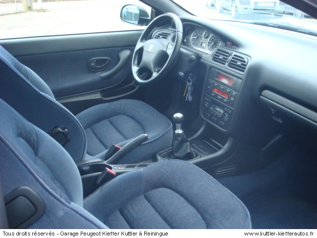peugeot 406 coupe 2 0l 16s 2000 occasion auto peugeot. Black Bedroom Furniture Sets. Home Design Ideas