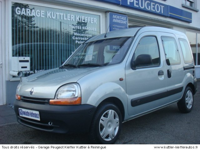 renault kangoo 1 5l dci 65cv expression 2002 occasion. Black Bedroom Furniture Sets. Home Design Ideas
